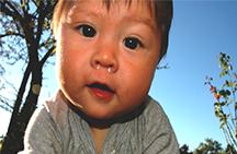كيف تتخلص من المخاط الأخضر عند الطفل