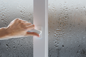 How to get rid of condensate plastic windows