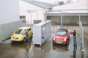How to wash a car in a self-service car wash