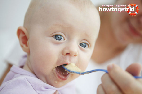When and how to add a banana to baby food