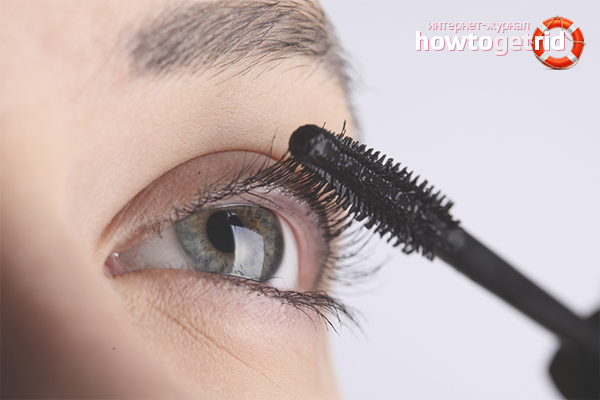 How to dye your eyelashes