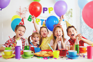 How fun to celebrate a child's birthday
