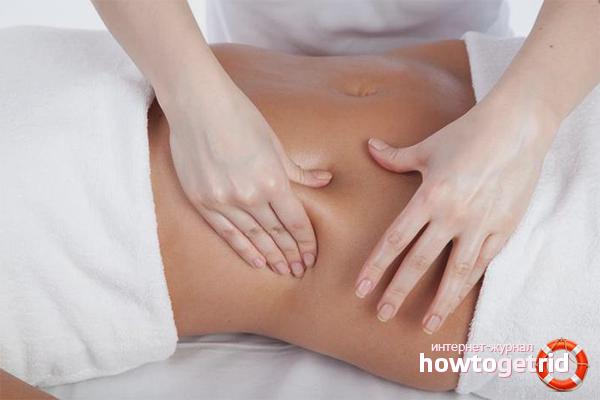 Massage after weight loss
