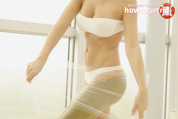 Tips for losing weight with cling film