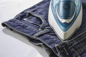 How to quickly dry jeans after washing