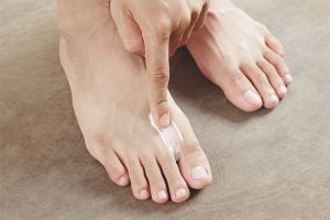 How to get rid of sweating feet