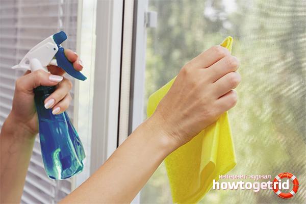 Comment laver les fenêtres sans taches
