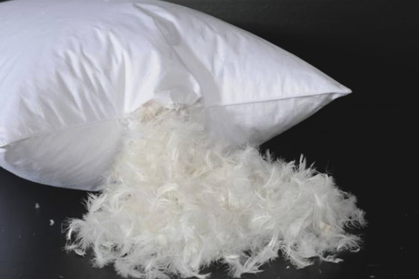 How to wash feather pillow