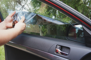 How to remove tinted glass