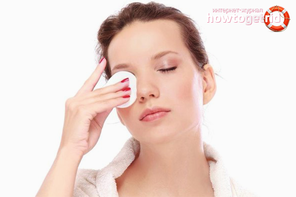 How to remove mascara from eyelashes