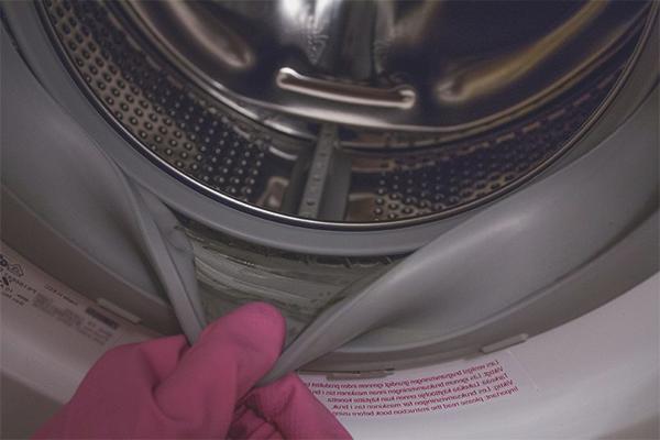 Wie man Schimmel in der Waschmaschine loswird
