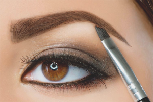 How to paint eyebrows paint