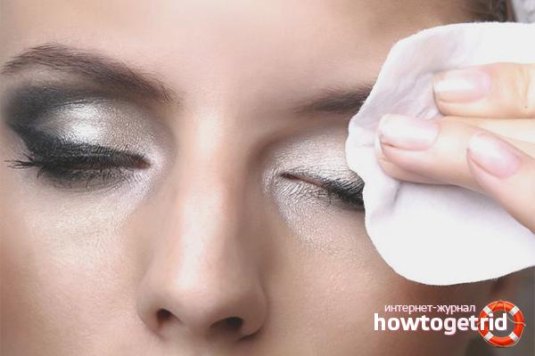 Proper makeup removal