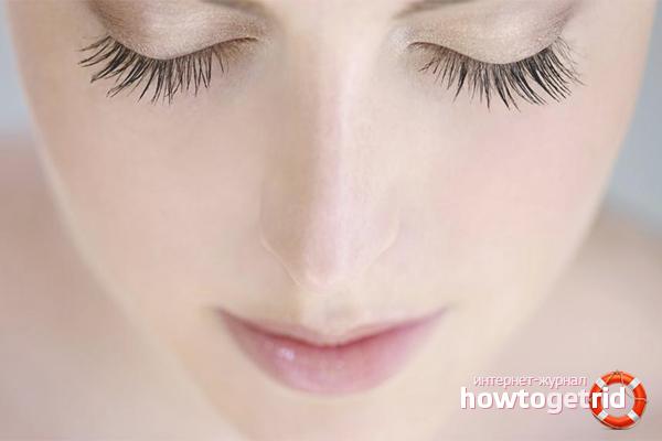 Restore eyelashes folk methods