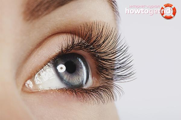Long eyelashes - myth or reality