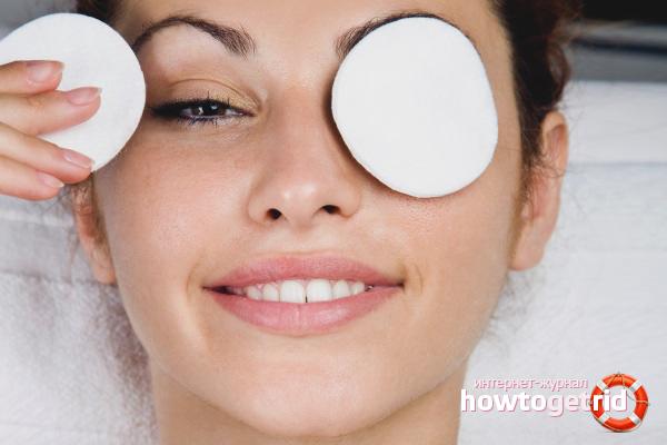 Care for eyelashes folk methods