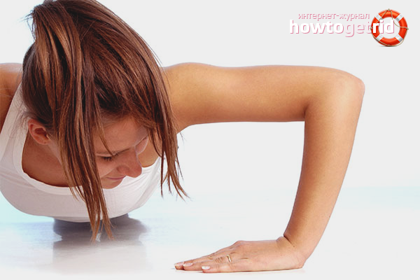 Exercises against the folds of the armpits