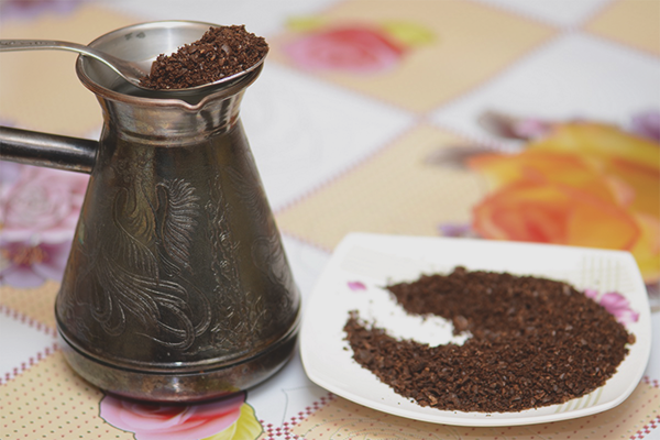 How to make coffee in Turk