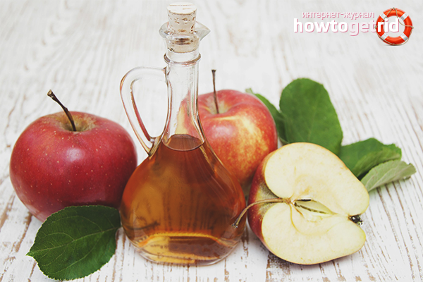 Selection of apple cider vinegar for weight loss
