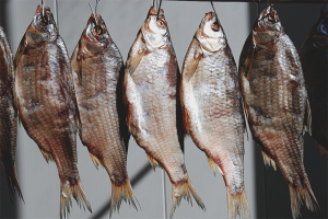 How to dry fish