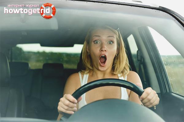 Surmonter la peur de conduire une voiture