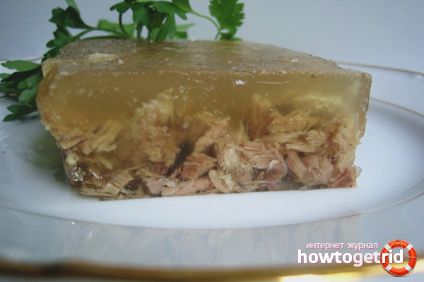 How to fix jelly with gelatin