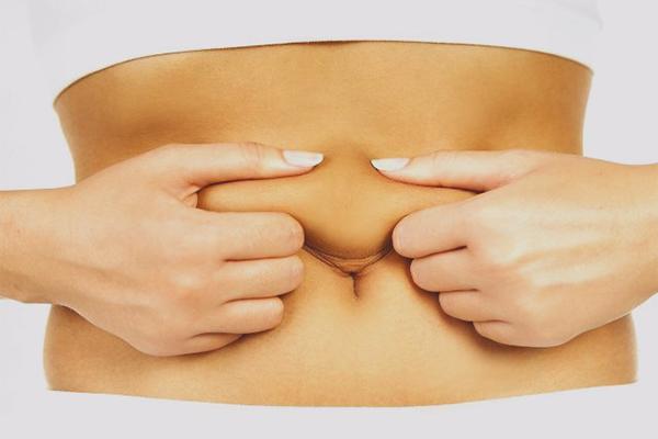 Bauch nach haut am schwangerschaft schlaffe Schlaffe Haut
