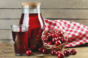 How to cook cherry compote