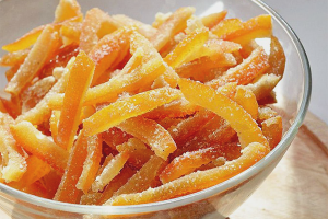 How to make candied orange peels