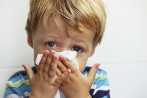 How to remove nasal congestion in a child