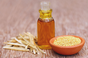 Mustard oil for hair