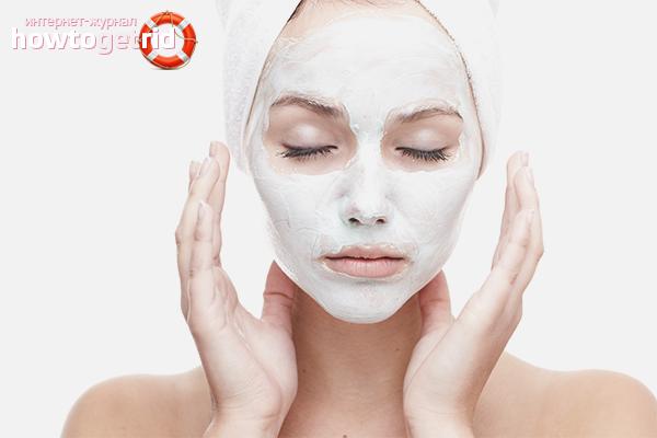 White clay for skin rejuvenation