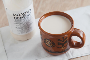 How to make baked milk