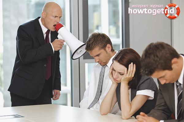 Comment répondre à l'impolitesse du chef
