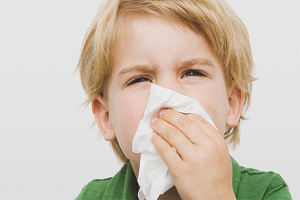 How to cure prolonged runny nose in a child