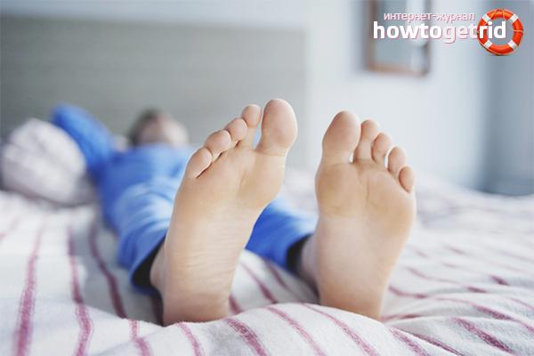 बेचैन पैर सिंड्रोम का इलाज कैसे करें