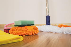 How to wash linoleum after repair