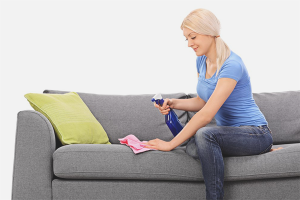 How to remove blood from the couch