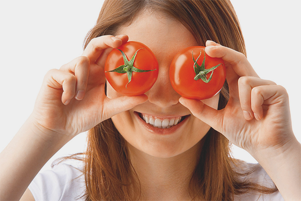 Masks from tomato for face