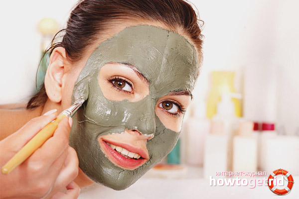 Face cleaning with clay