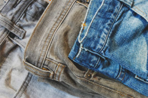 What to do if jeans are painted