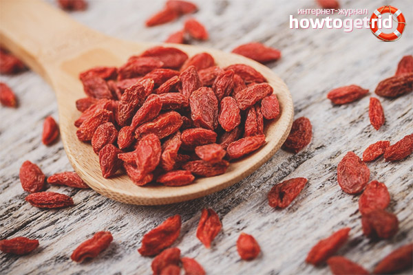 Goji berries for weight loss