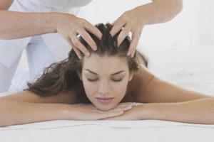 Masajul capului pentru cresterea si consolidarea parului