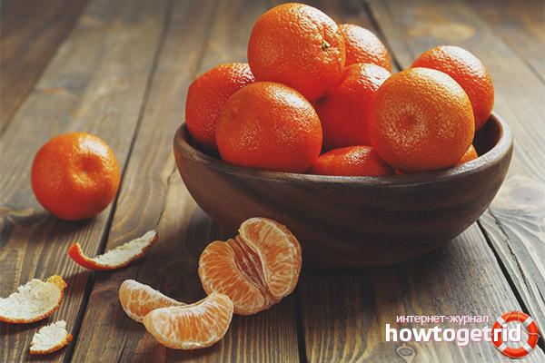 Comment choisir les mandarines