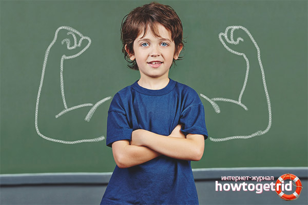 Cum să dezvolți o tijă la un copil