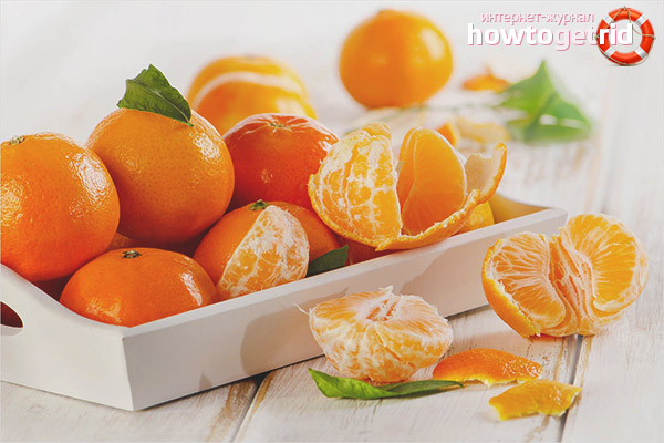 How to use tangerines during pregnancy