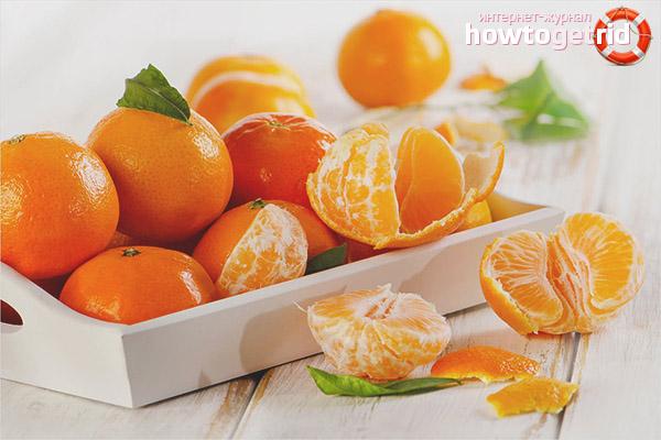 Comment utiliser les mandarines pendant la grossesse