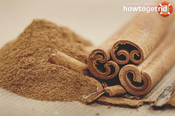 Cinnamon in various diseases