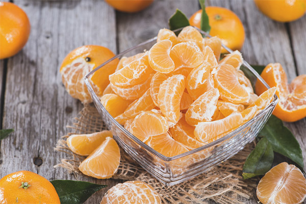Mandarines pendant la grossesse