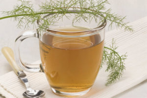 Tea with fennel for newborns